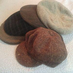 Men's vintage hat lot